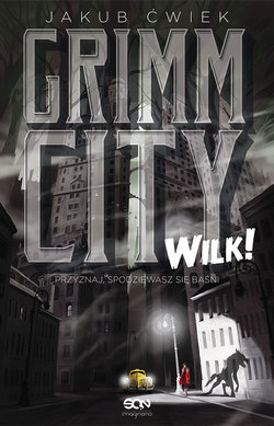 Grimm City. Wilk - okladka